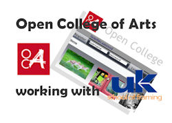 Special framing course run with the open college of arts