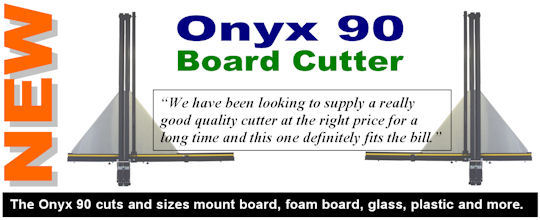 The Onyx 90 sheet materials cutter.