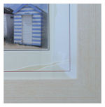 Corner detail of Beach Huts in Driftwood