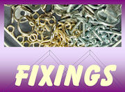 View our range of canvas fixings & hardware