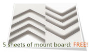 5 free sheets when you order 10+ sheets of mount.