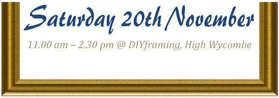 The Grand Opening of DIYframing High Wycombe