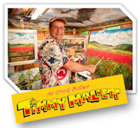 Timmy Mallett will be leading the official launch