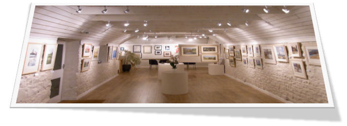 Pound Barn Gallery Uses STAS Hanging System