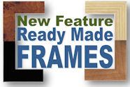 New Feature - Ready Made Frames