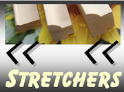 View our range of stretcher bars and mouldings