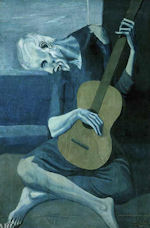 From Picasso's Blue Period