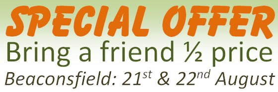Beaconsfield training offer: Bring a friend 1/2 price