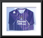 Learn how to frame a sports shirt: 9th May Beaconsfield