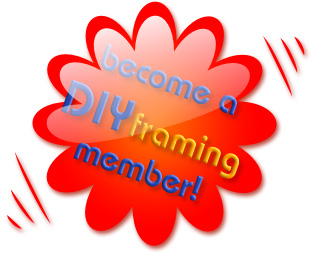 Become a DIYframing member!