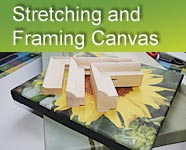 Stretching and Framing Canvas