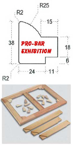 Professional Stretcher Bar  (Exhibition) image